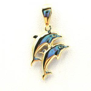 zawieszka delfiny
