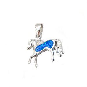 zawieszka koń opal