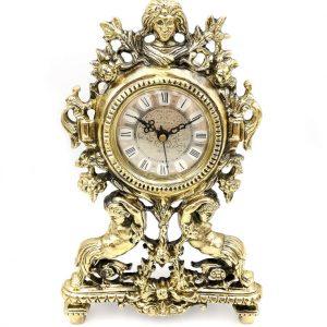 Zegar z mosiądzu